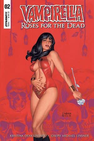 Joseph Michael Linsner and Kristina Deak-Linsner Talk Vampirella: Roses for the Dead