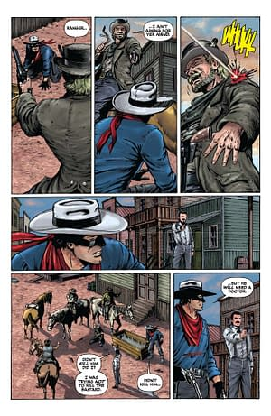 Ande Parks Commentary On Lone Ranger #6