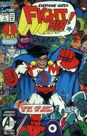 Swipe File: Fight Man and Chase Variant