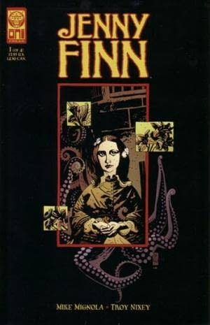 Jenny Finn #1 cover by Mike Mignola