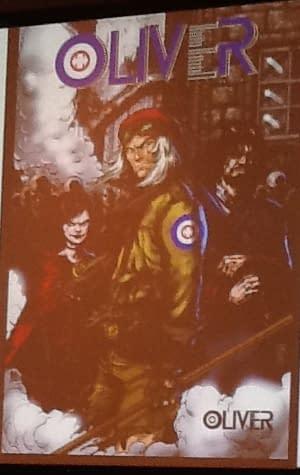Image Comics Announces Darick Robertson and Gary Whitta's Oliver