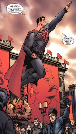Get Tickets To The Star-Studded New York Premiere of Superman: Red Son, Based on Mark Millar and Dave Johnson's Comics