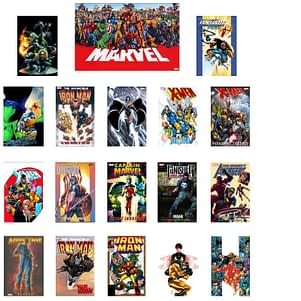$300 Of Marvel Graphic Novels For $40.98, Including Shipping