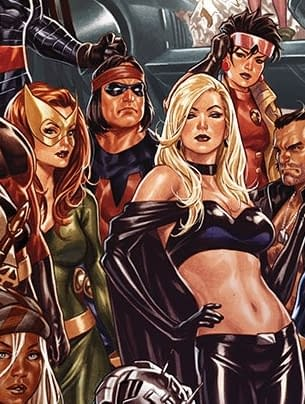 Looking at Everyone in Mark Brooks' Art For Jonathan Hickman's House Of X and Power Of X