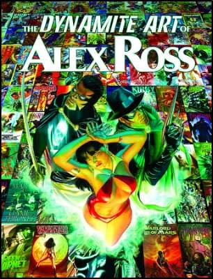 Alex Ross On Flash Gordon, Kirby Genesis Silver Star And A Whole Book Of Covers