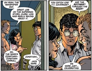 The Changing Face Of Clark Kent In Superman #1
