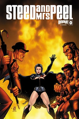 Swipe File: Steed And Mrs Peel #0 And The X-Men