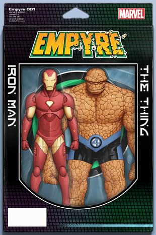 Empyre #1 Action Figure Variant Cover