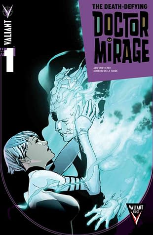 Inside The Art Process Of Valiants Death-Defying Doctor Mirage #1: Inks Colors And Letters