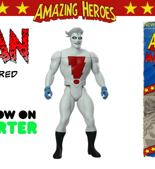 Amazing Heroes Wave 1.5 Retro Super Hero Action Figures &#8211 Mike Allred Erik Larsen Reilly Brown Tim Seeley Tom Fowler Phil Hester And Sonny Liew