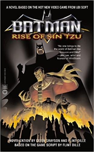 Batman Rise of Sin Tzu Novelization Cover