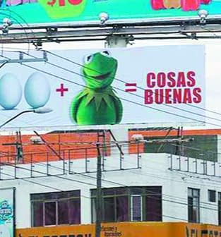 Kermit The Mexican Political Candidate With Eggs That Disney Wants To Ban