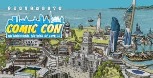 Heading to JoelCon… Sorry, Portsmouth Comic Con… on a Sunny Saturday
