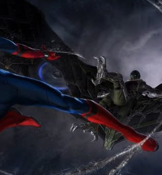 Get Your First Look At The Vulture With This Spider-Man: Homecoming Concept Art