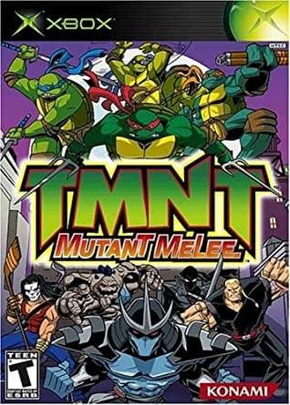 Teenage Mutant Ninja Turtles Mutant Melee Xbox Cover
