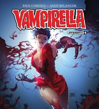 Writers Commentary &#8211 Paul Cornell Talks Vampirella #6