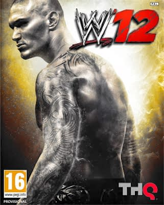 Randy Orton graces the cover of WWE 2k12.