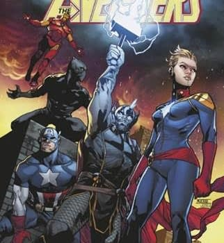eBay Gets its Own Avengers #1 Variant Cover by Mahmud Asrar Opens All-Avengers Online Store