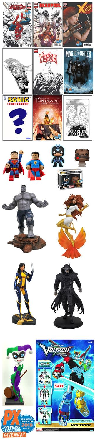 How to Get Diamond's San Diego Comic-Con Exclusives – Without Going to SDCC