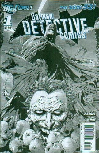 Detective Comics, Vol. II, #1 Fourth Printing