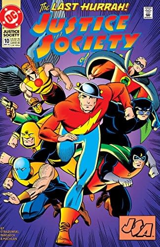 Len Strazewski Still Doesn't Have Much Luck With the Justice Society of America