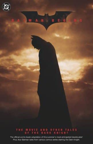 Batman Begins TPB Cover The Dark Knight