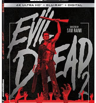 Evil Dead 2 Comes to 4K Ultra HD Blu-ray in December