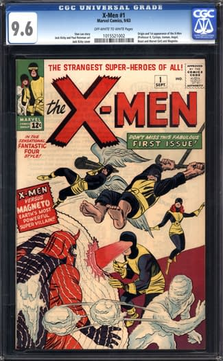 A First Class Copy of X-Men #1 Goes For A Record $200,000