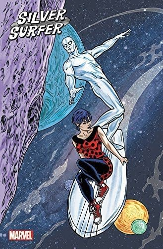 Mike Allred Creates New Wraparound Cover for Silver Surfer Omnibus