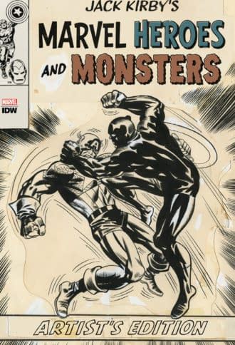 IDW Has High-End Jack Kirby, John Byrne, Joe Jusko and Jim Starlin Exclusives for San Diego Comic-Con
