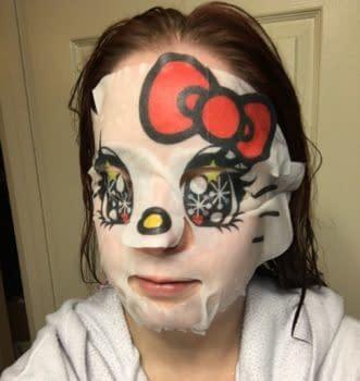 Nerd Beauty: The Horrifying (Yet Hydrating) Hello Kitty Sheet Mask