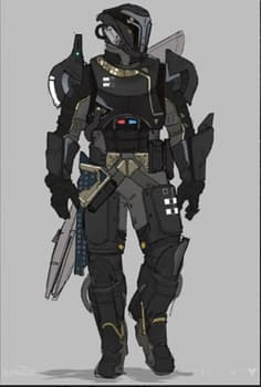 Check Out This Awesome Concept Art For Destiny