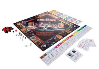 Stranger Things Monopoly Board and Pieces