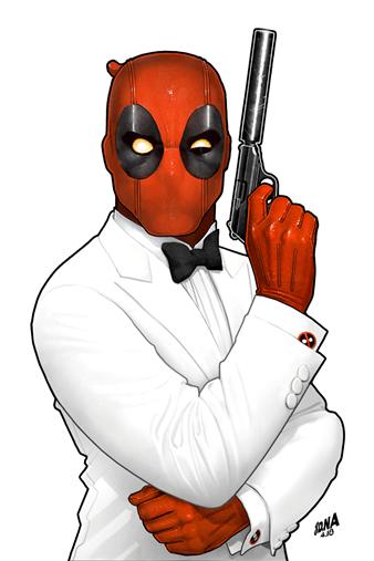 Chris Hastings and Salva Espin do Deadpool as James Bond For Digital-First Comic, Secret Agent Deadpool