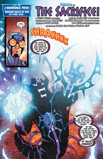 Blue Beetle #10 Review: A Spritz Of Rain In The DC Drought