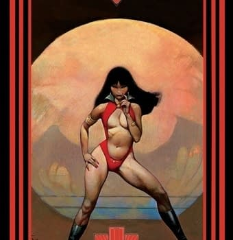 Classic Vampirella Images To Be Used In Tarot Card Deck