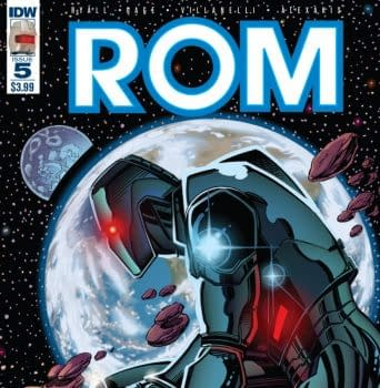 Bob Layton Shows Off Unpublished IDW Rom Sketches And More Unused Art