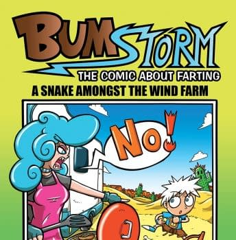 Thought Bubble Debut: Bumstorm #3: A Snake Amongst The Wind Farm By Rob Luckett