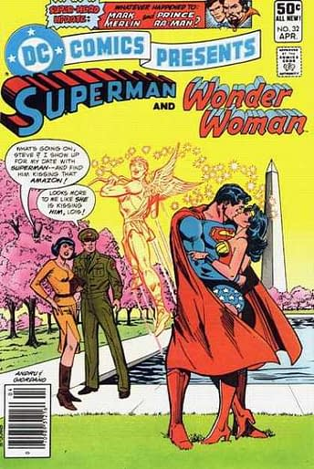 The Kisses Of Superman And Wonder Woman