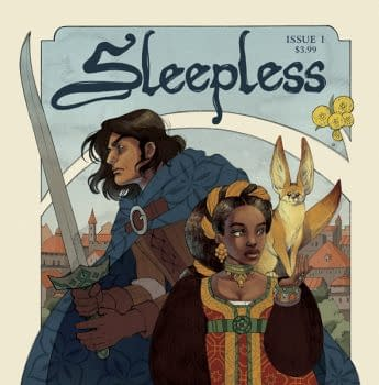 Image Comics Is Sleepless This December Thanks To Sarah Vaughn Leila del Duca Alissa Sallah And Deron Bennett