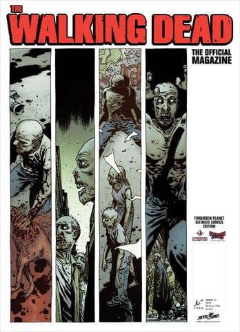 North Carolina Comic Con: The Walking Dead Magazine #1 Variant