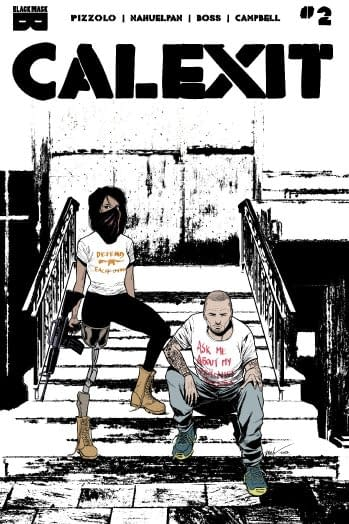 Calexit: The Comic Book That Is Killing Steve Bannon