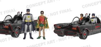 Funko Brings Us More Batman 66 Including Action Figures (Now With More Batmobile)