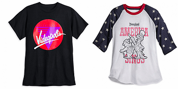 New YesterEars Shirts From Disney, To Remember Attractions That Are No More