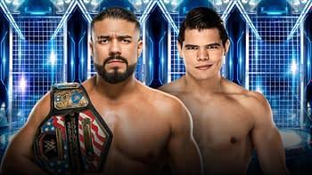 Elimination CHamber 2020: United States Champion Andrade vs. Humberto Carrillo