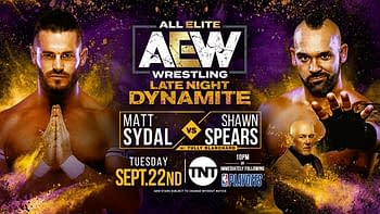 Match card for next week's Late Night Dynamite