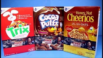 Specially Marked Cereal Boxes
