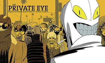 Cover image for PRIVATE EYE DLX ED HC (MR)