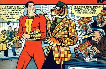 Will Shazam! Include Tawky Tawny?