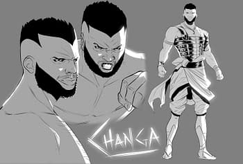 Changa and the Jade Obelisk #1 Sword & Soul, Fantasy comic series launching on Kickstarter